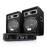"DJ PA Package ""Miami Nights"" Speakers and Amplifier"
