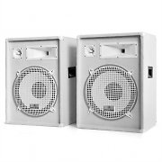 Pair of MALONE PA Speaker Boxes 1600W 38cm Subwoofer