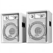 Malone PW-1222 Pair of PA Speakers 1200W 30cm