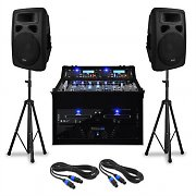 Complete DJ PA Package 'Urban Beats' 250 people 1000W USB