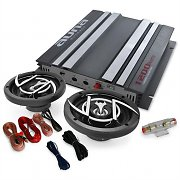 'Platinum Line 200' Car Stereo System Amplifier Speakers 1200W