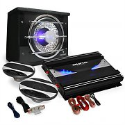 2.1 Car Audio HiFi System 'Black Line 320' Speaker Amplifier 2800W Set
