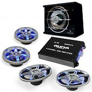 auna BeatPilot FX-413 Car Audio Set 6000W