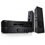 HiFi System - 600W Amplifier, CD MP3 Player Radio Receiver & HiFi Boxes