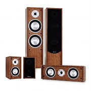 Auna Line 300-WN 5.0 Home Cinema Hi-Fi Speaker System 265W RMS - Walnut