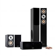 Auna Linie 501 BK 5.0 Home Cinema Sound System 350W RMS