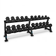 Capital Sports Dumbbell Rack Set 20 Intakes x 10 Dumbbell Pairs