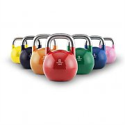 Capital Sports Compket Set of 7 Steel Competition Kettlebells