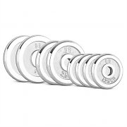 CAPITAL SPORTS CP 20 kg Set Dumbbell Disc Set 4 x 1.25kg + 2 x 2.5kg + 2 x 5kg