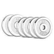 CAPITAL SPORTS CP 20 kg Set Dumbbell Disc Set 4 x 2.5 kg + 2 x 5 kg 30 mm