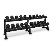Capital Sports Dumbbell Rack Set 20 Holders 10 x Dumbbells Pair