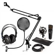auna MIC-920B USB Microphone Set V4 Headphones Microphone Microphone Arm Pop Filter