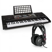 Schubert Etude 450 USB Learning Keyboard with Headphones 61 Keys USB MIDI Player LCD