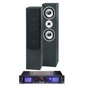 Home HiFi Laptop Stereo Tower Speakers Mp3 USB SD FM Amp 700W System